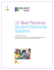 WhitePaper Technology 12 Best Practices: Student Response Systems
