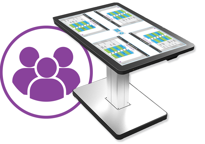 ProColor Touch Screen Table-Boxlight
