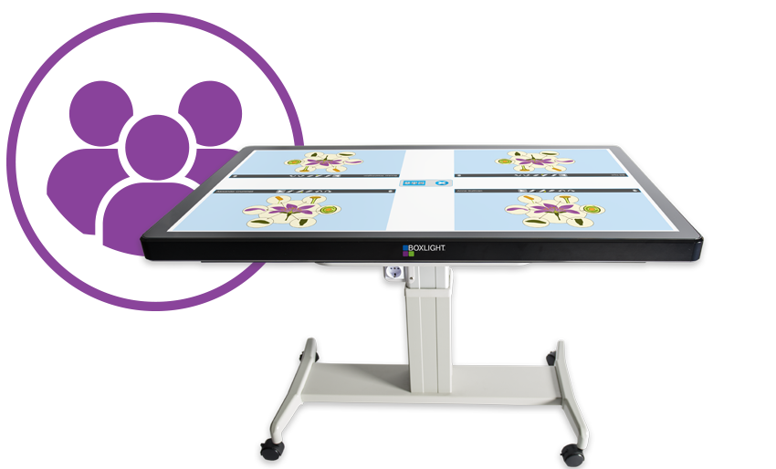 ProColor Touch Screen Table For Cooperative Learning In The Class
