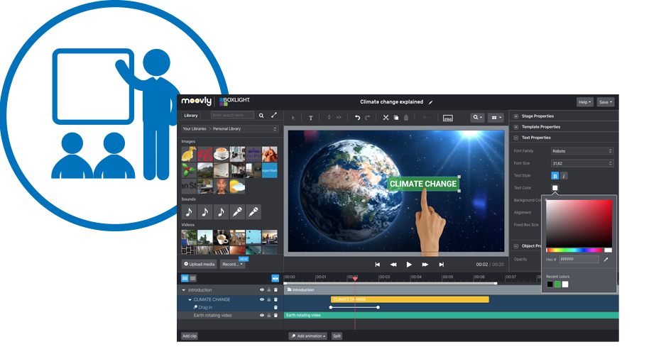 Mimiomoovly Video Editing Software For Education